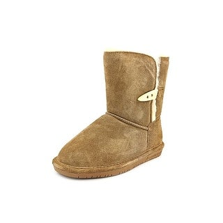 Bearpaw Abigail Youth Youth Round Toe Suede Brown Winter Boot