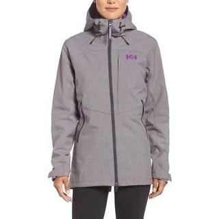 Helly Hansen NEW Gray Womens Size XL Full-Zip Hooded Outdoor Jacket