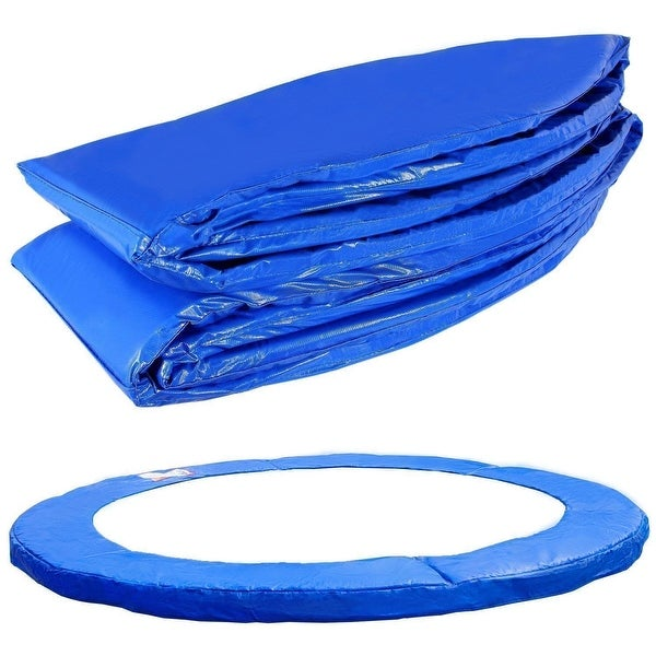 Gymax 12FT Blue Round Safety Trampoline Safety Pad Cover Pad Only. Opens flyout.