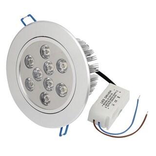 AC 194-264V 9Watt 9LEDs Warm White LED Spot Recessed Ceiling Down Light Bulb