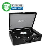 Electrohome Vinyl Record Player Classic Turntable with Built-in Speakers - 1 Year Extended Warranty