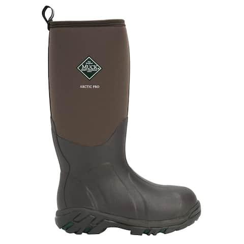 Muck Boot Arctic Pro Mens Boots Mid Calf - Brown