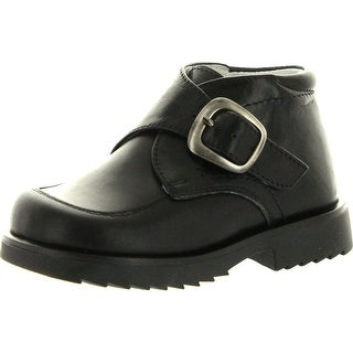 Simone Boys Pc330 Made In Italy Casual Boots With Buckle