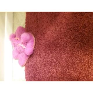 Somette Quincy Super Shaggy Chilli Pepper Red Washable 2-piece Bath Rug Set