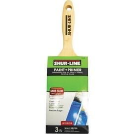 "Shur-Line 3"" Flat Paint Brush"