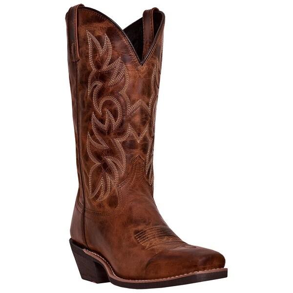 Laredo Mens Breakout Western Boot, Rust Earth, 8.5D