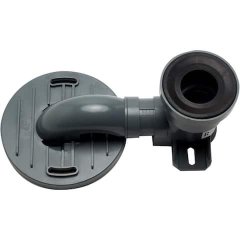 Eago R-356TRAP Replacement PVC Toilet Trap Rough In