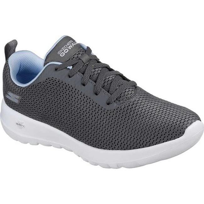 b3a6d922cbf4 Shop Skechers Women s GOwalk Joy Paradise Walking Shoe Gray Blue - On Sale  - Free Shipping Today - Overstock - 19114135
