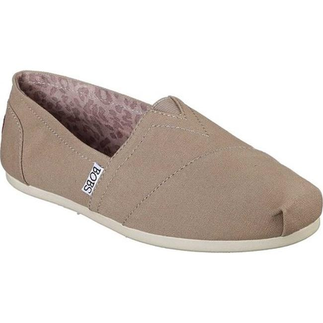 db5e56764738 Shop Skechers Women s BOBS Plush Peace and Love Taupe - On Sale - Free  Shipping On Orders Over  45 - Overstock - 9049661