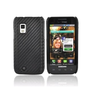 Verizon Snap-On Case for Samsung Galaxy S Fascinate i500 - Graphite Black (Bulk