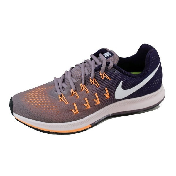 official photos fe588 530ad Nike Women  x27 s Air Zoom Pegasus 33 Purple Smoke White 831356-