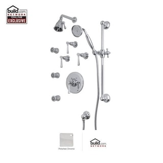Rohl WEKIT46LM Wellsford Shower System with Single Function Shower Head