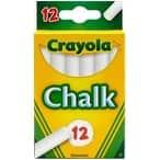 White 12/Pkg - Crayola Chalk