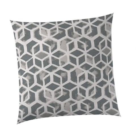 """Cubed Square Outdoor Throw Pillow 18.5 x 18.5"""""""