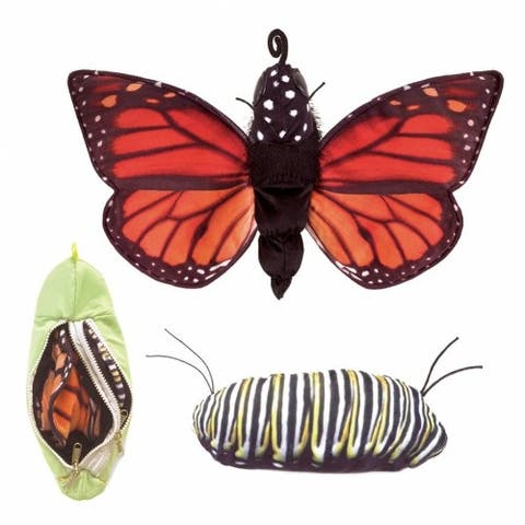 Monarch Life Cycle Hand Puppet by Folkmanis
