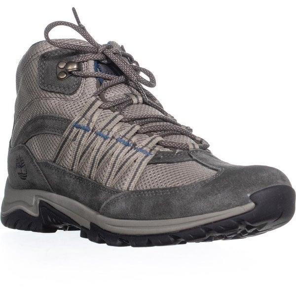 timberland lace up hiker bottes