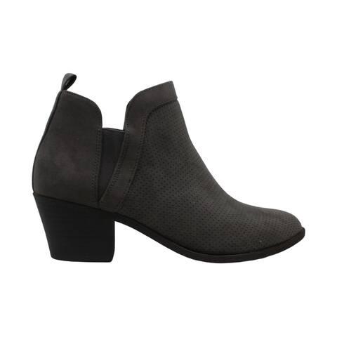 Style & Co. Womens MYRRAHF Fabric Almond Toe Ankle Fashion Boots