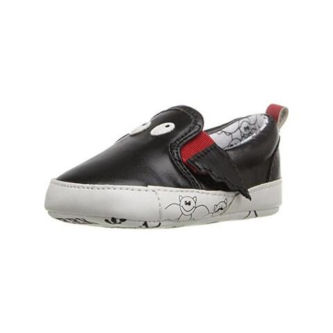 Rosie Pope Kids Footwear Black Bat Crib Shoes Infant Boys Faux Leather