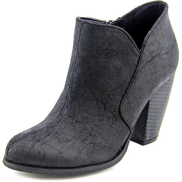 Victie Women Round Toe Synthetic Ankle Boot