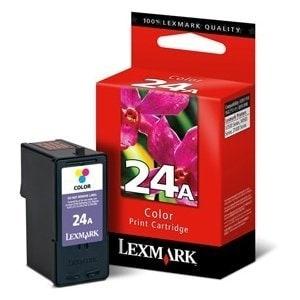 Lexmark 18C1624 Lexmark #24A Color Ink Cartridge - Inkjet - Color