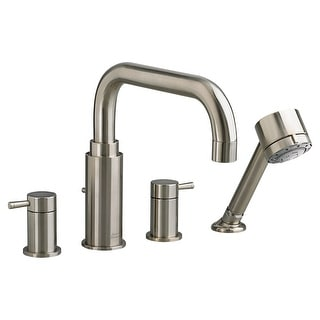 American Standard T064.901  Serin Deck Mounted Roman Tub Filler with Built-In Diverter