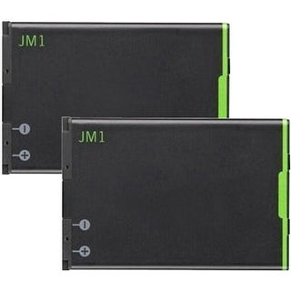 Replacement Battery JM1 for Blackberry Bold 9790 / P9981 Phone Models (2 Pk)