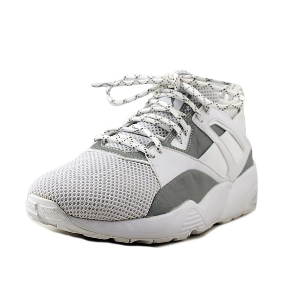 Puma Blaze of Glory Men Round Toe Synthetic White Sneakers