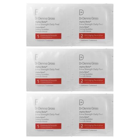 Dr Dennis Gross Alpha Beta Extra Strength Daily Peel Treatment 3-Packette Set