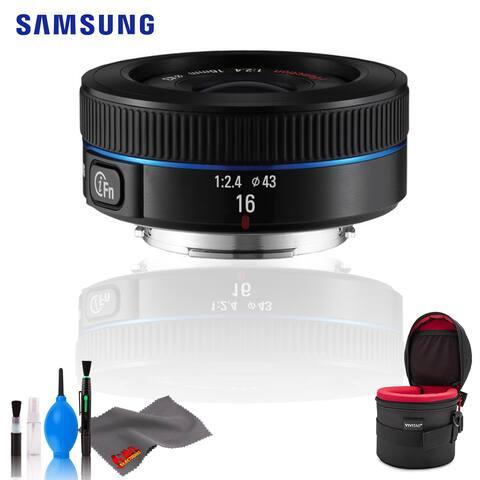 Samsung 16mm f/2.4 (Black) - Standard Bundle