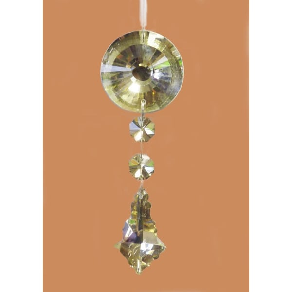 "5.5"" Champagne Glass Dangling Pendant Christmas Ornament"
