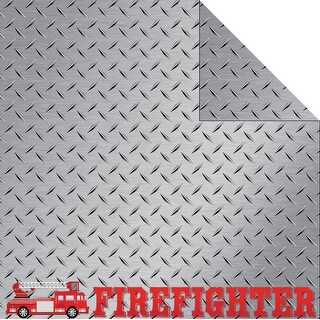 """Signature Series 3 Double-Sided Cardstock 12""""X12""""-Firefighter"""