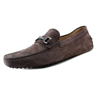Tod's Morsetto Giuli New Gommini 122 Men A Suede Brown Moccasins