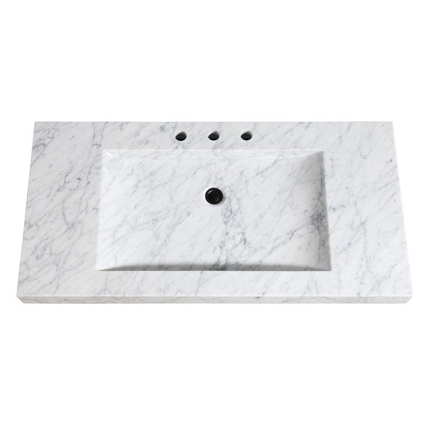 "Avanity SIT43 43"" Marble Vanity Top and Integrated Sink"