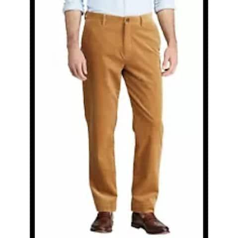 RALPH LAUREN Mens Beige Printed Pants 38 X 34 - 38 X 34