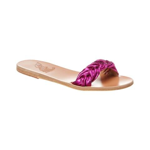 Ancient Greek Sandals Garitsa Leather Slide