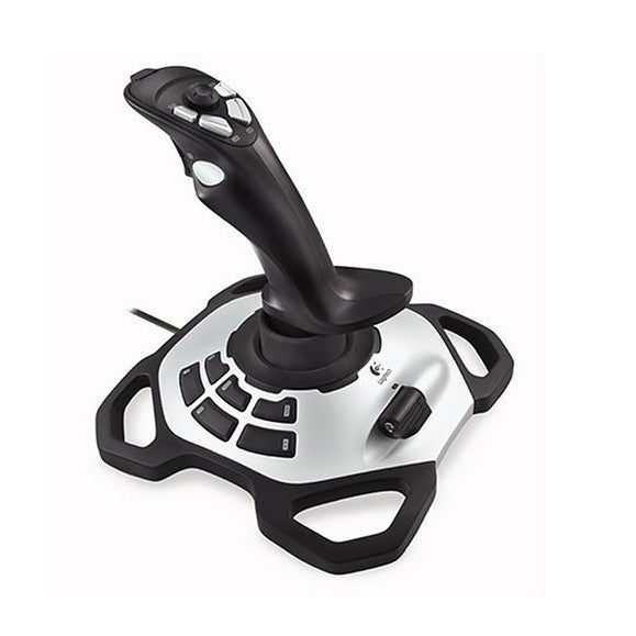 Logitech - Extreme 3D Pro - Joystick - 12 Button(S) - 8-Way Hat Switch