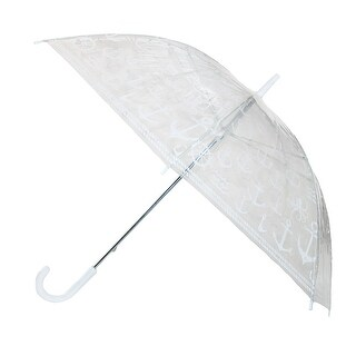 Time Concept Inc. Women's Nautical Clear Umbrella - One size