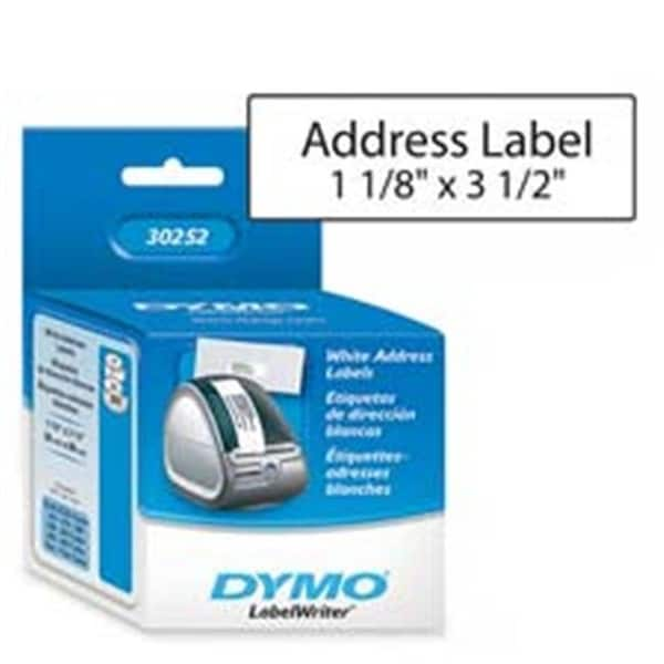 Corporation Address Labels- 1- 13in x3- 50in - 350 Labels-RL- White