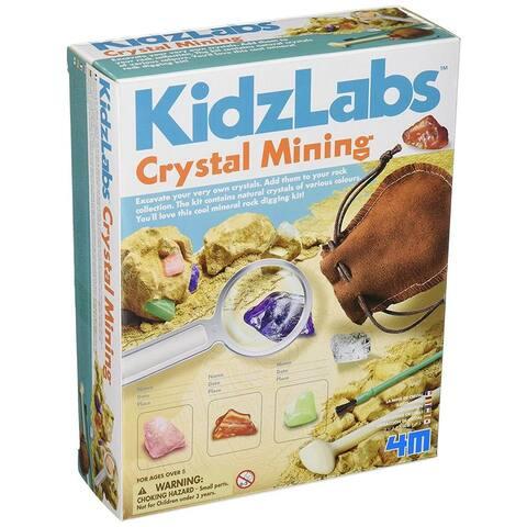4M Kidz Labs Crystal Mining Kit