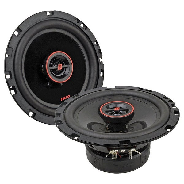 """Cerwin Vega Hed 6.5"""" 2-Way Coaxial Speaker Set - 320W Max / 50W Rms"""