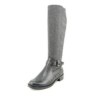 Aerosoles With Pride Women Round Toe Canvas Gray Knee High Boot