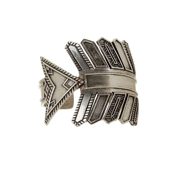 House Of Harlow 1960 Womens Cuff Bracelet Antique Accented Arrow