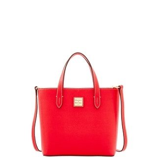 Dooney & Bourke Saffiano Mini Waverly (Introduced by Dooney & Bourke at $188 in Apr 2017) - Tomato