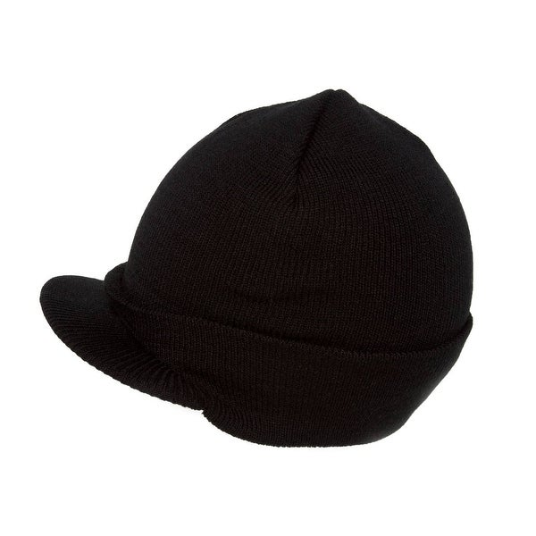Shop Blank Cuff Beanie Visor (Comes In Many Different Colors)- Black - Free  Shipping On Orders Over  45 - Overstock.com - 16948887 1c37f8b92642