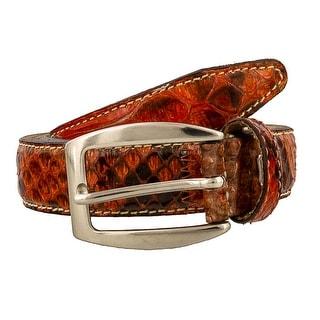Renato Balestra PAREA RO Genuine Python Ladies Belt