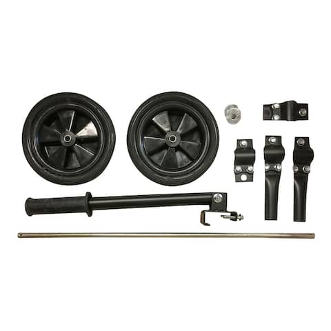 Offex Generator Wheel Kit Assembly for 4000W Generators - Black