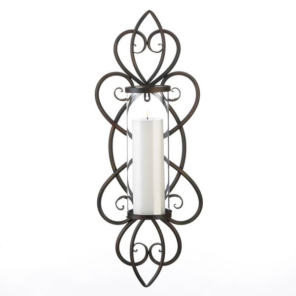 New Arriving Heart Shaped Candle Wall Sconce