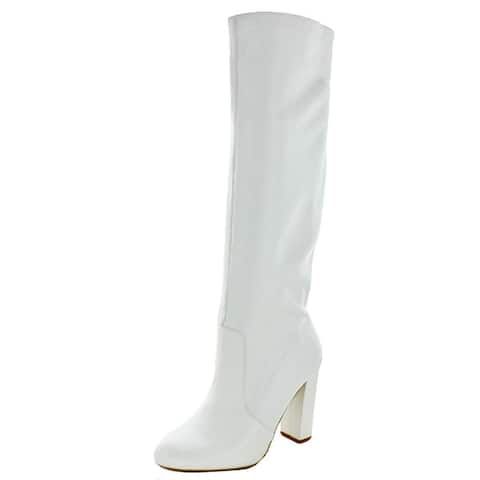 6c77e7f7754 Buy White Women's Boots Online at Overstock | Our Best Women's Shoes ...