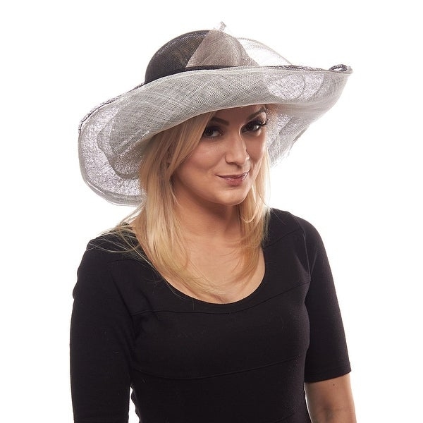 Winners Circle Sinamay Derby Hat