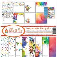 "Ella & Viv Collection Kit 12""X12""-Watercolor Party"